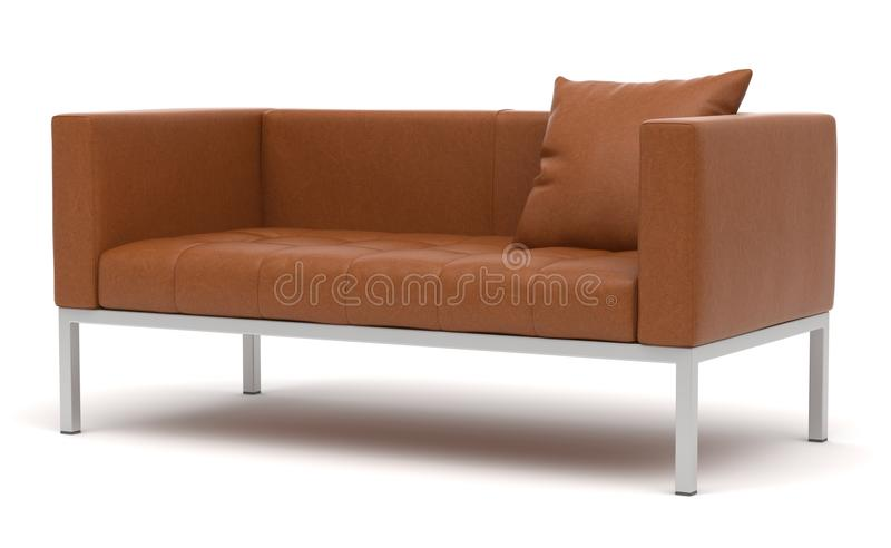 Sofa 140 de Dama de Zanotta photo libre de droits