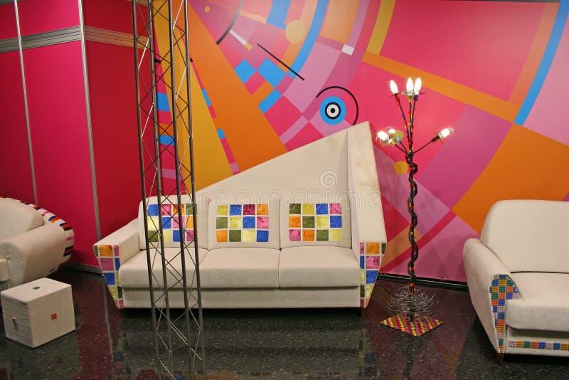 sofa dostrzega kolor biały zdjęcia stock