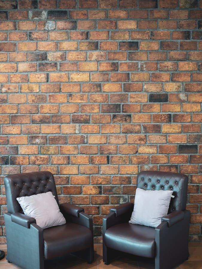 Sofa en cuir images libres de droits