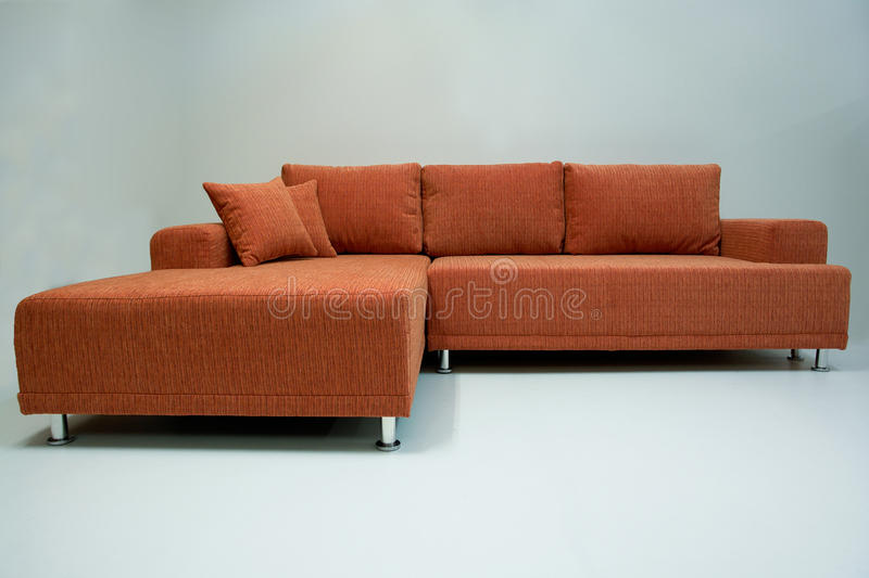 Sofa faisant le coin moderne photo libre de droits