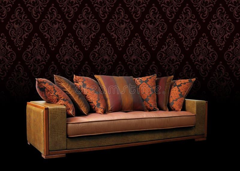 Sofa furniture royalty free stock images