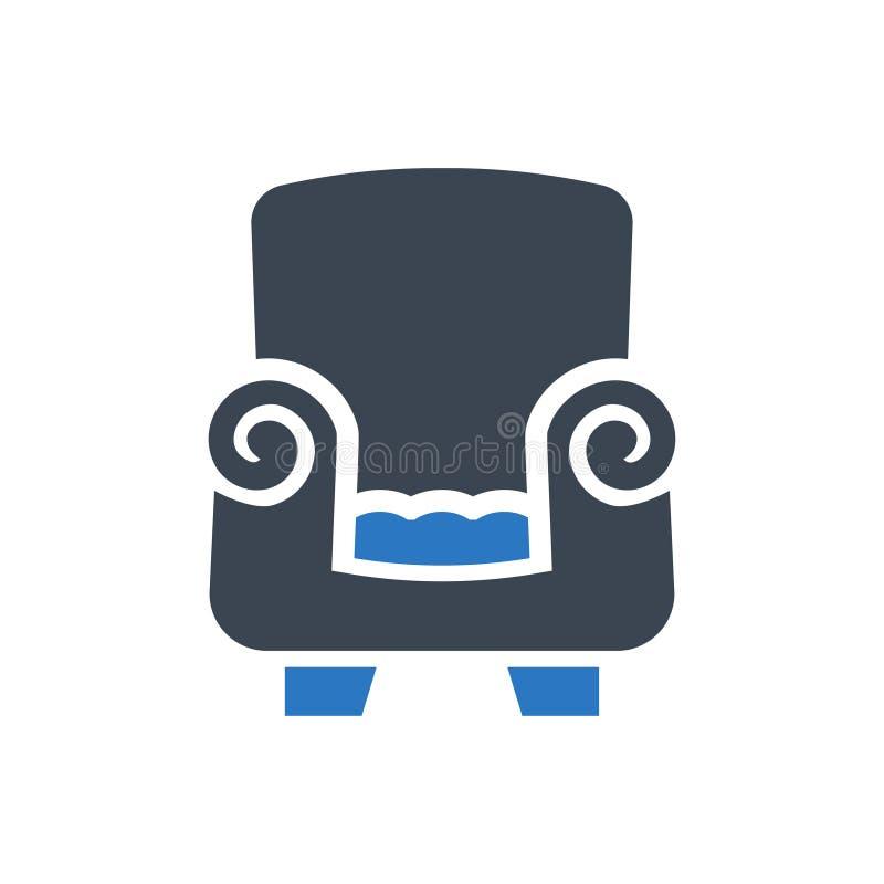 Sofa Furniture Icon ilustração stock