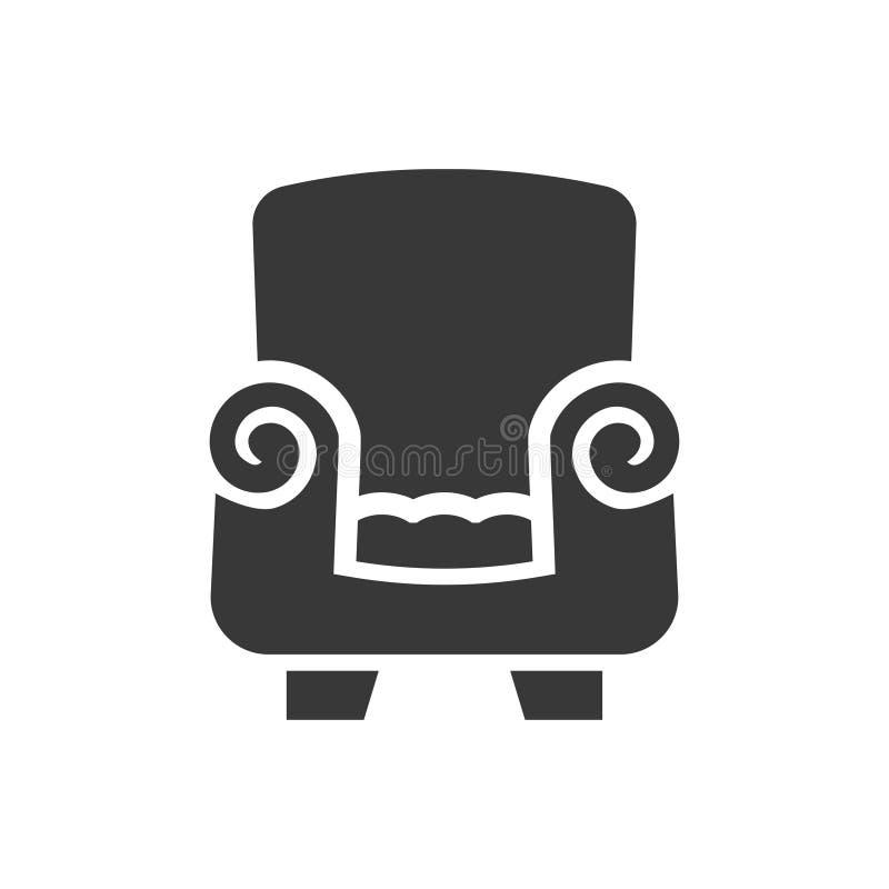 Sofa Furniture Icon ilustração do vetor