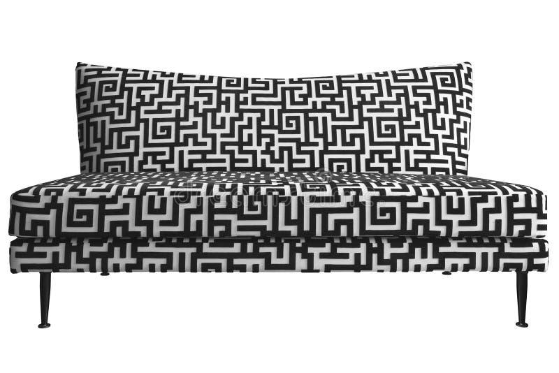 Sofa furniture. Sofa isolated on white background stock image