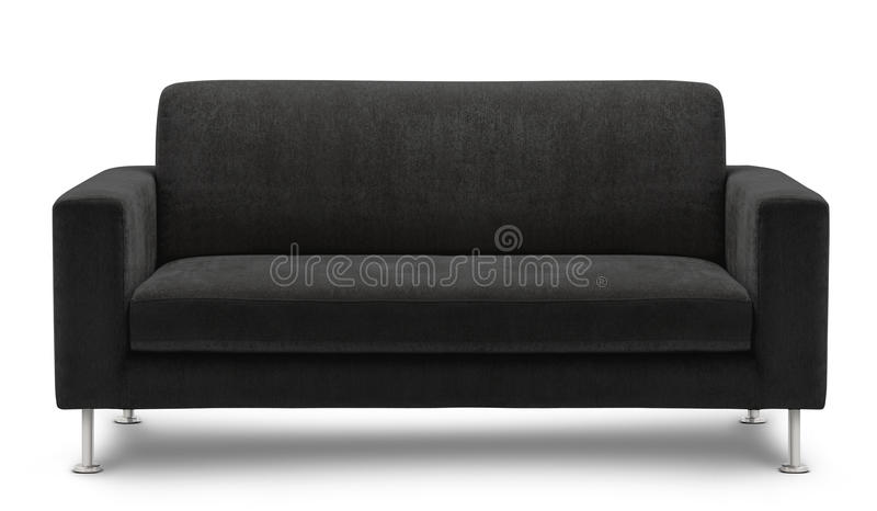 Sofa furniture isolated on white background royalty free stock photography