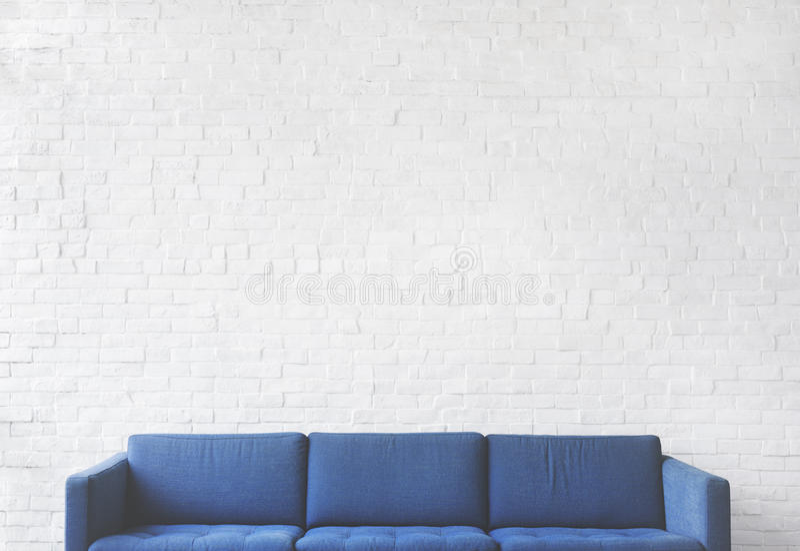 Sofa Furniture Modern Interior Living Room Concept royalty free stock photos