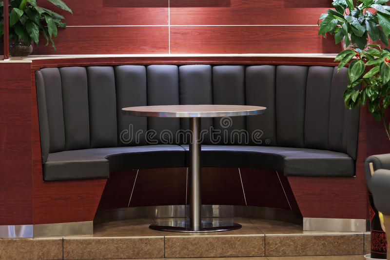 Sofa in hotel stock image