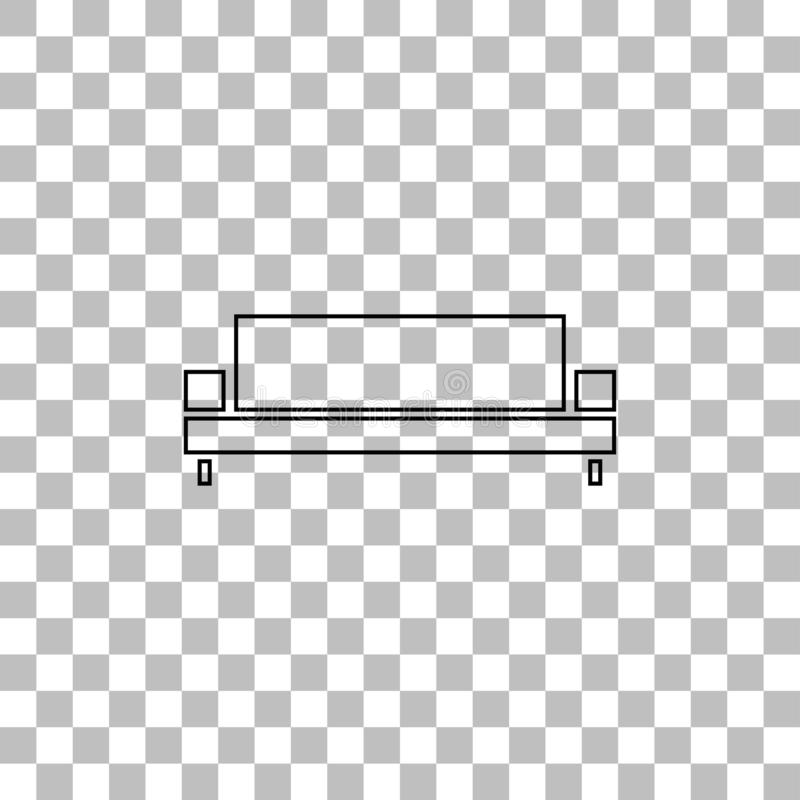 Fabulous Sofa Icon Flat Stock Vector Illustration Of Isolated Theyellowbook Wood Chair Design Ideas Theyellowbookinfo