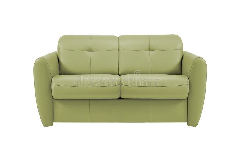 Sofa jaune photo stock