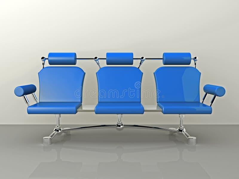 Sofa-Konzept-Auslegung stock abbildung