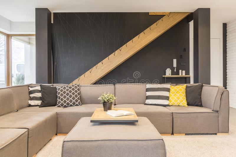 Sofa In Living Room images stock