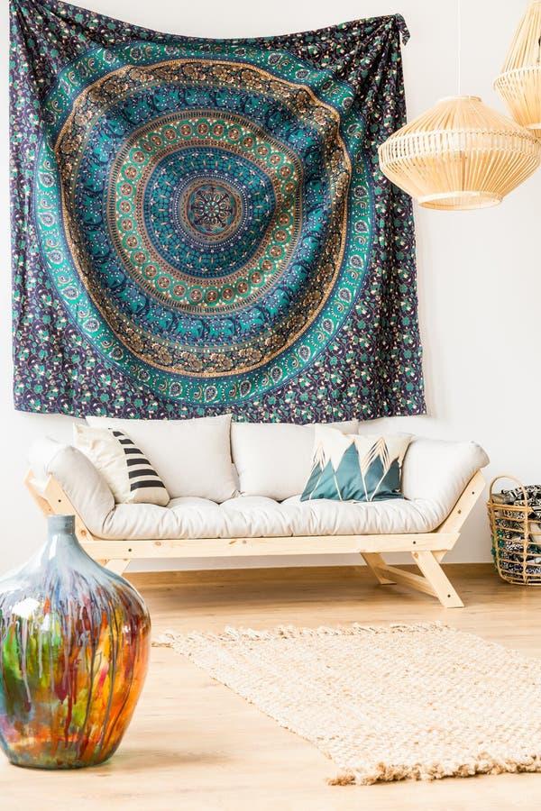 Sofa In Living Room photo stock