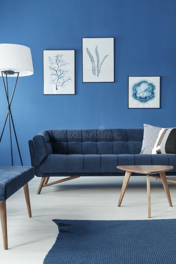 Sofa In Living Room royalty-vrije stock foto's