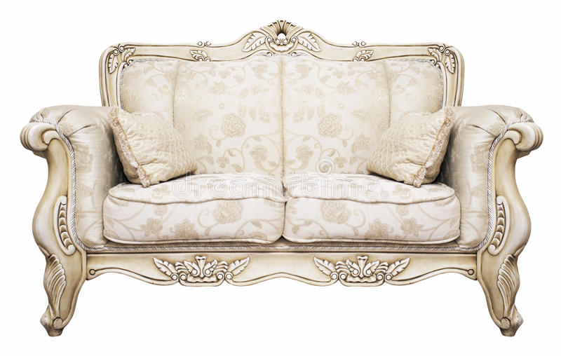 Sofa luxueux photo stock