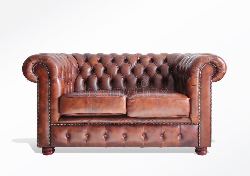 Sofa med banan royaltyfri fotografi
