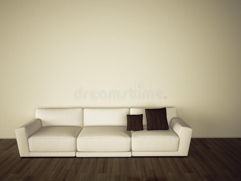 Download Sofa In Modern Comfortable Interior Royalty Free Stock Image - Image: 17405146