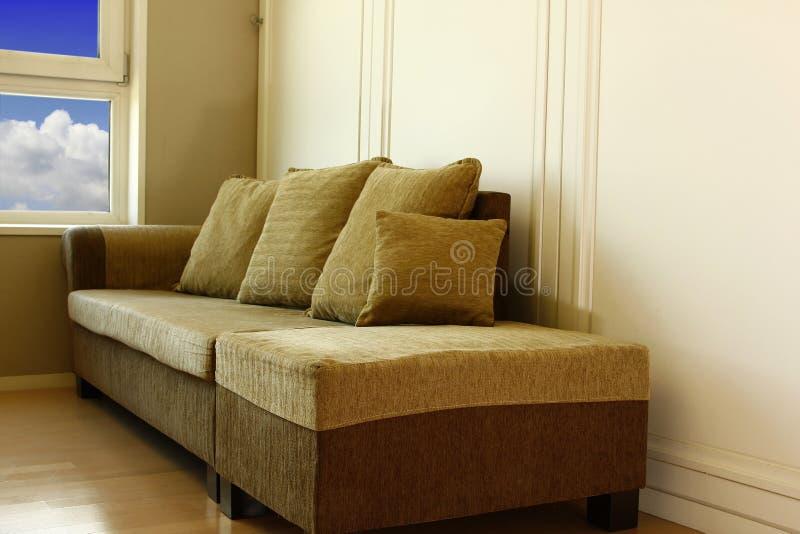 sofa moderne d'angle photos libres de droits