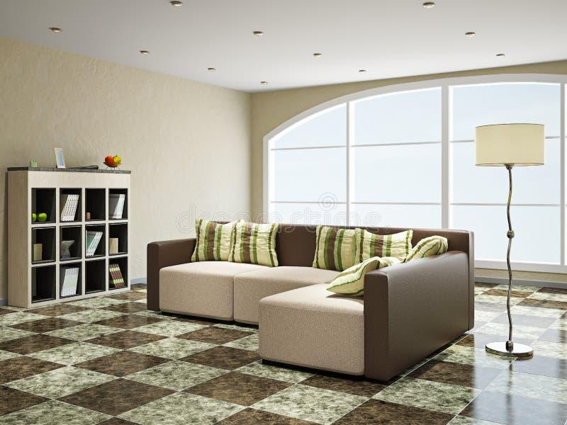 Sofa near the window