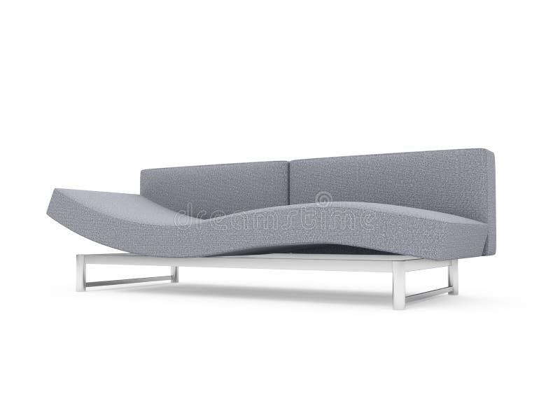 Download Sofa over white background stock illustration. Illustration of modern - 9778241
