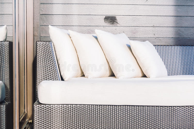 Sofa Pillow stock afbeeldingen