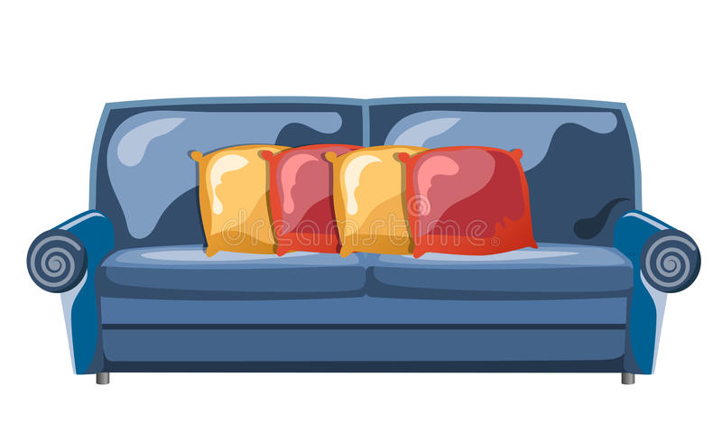 Download Sofa With Pillows Stock Images - Image: 31040454