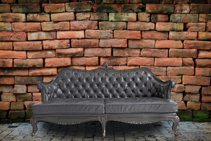 Sofa In Room Royalty Free Stock Images