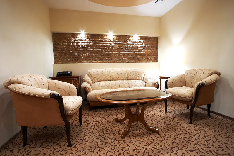 Download Sofa and two armchairs stock image. Image of furniture - 2323649