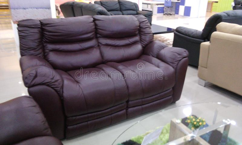 Sofa two seatter stock image