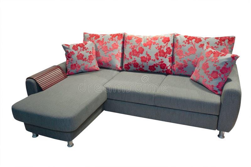 Sofa on white royalty free stock images