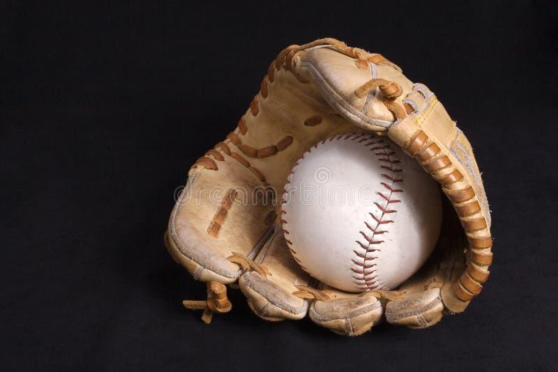 sofball de gant photographie stock libre de droits