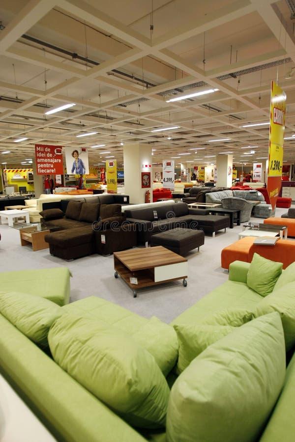 Soffa- och sofaslager arkivfoto