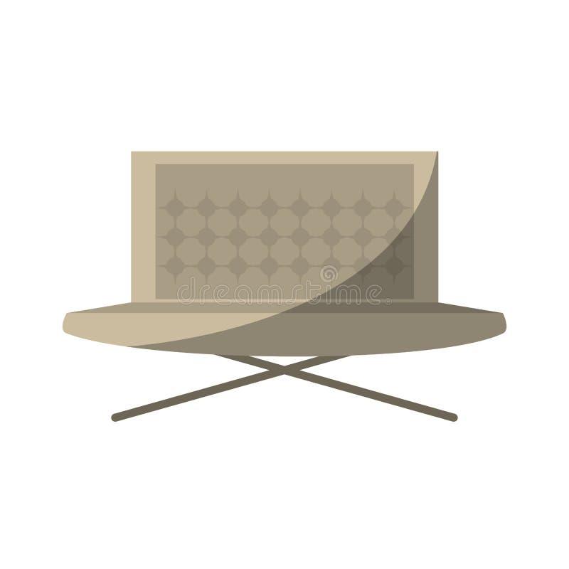 soffamöblemanghuset kopplar av skugga vektor illustrationer