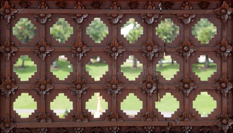 Soffiatura astratta sulla parete di legno fotografie stock