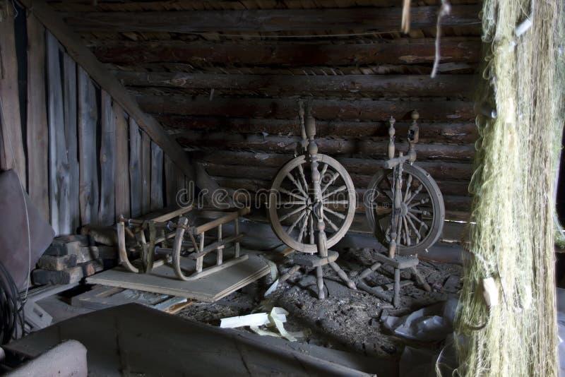 soffitta antica fotografia stock immagine di abbandonato