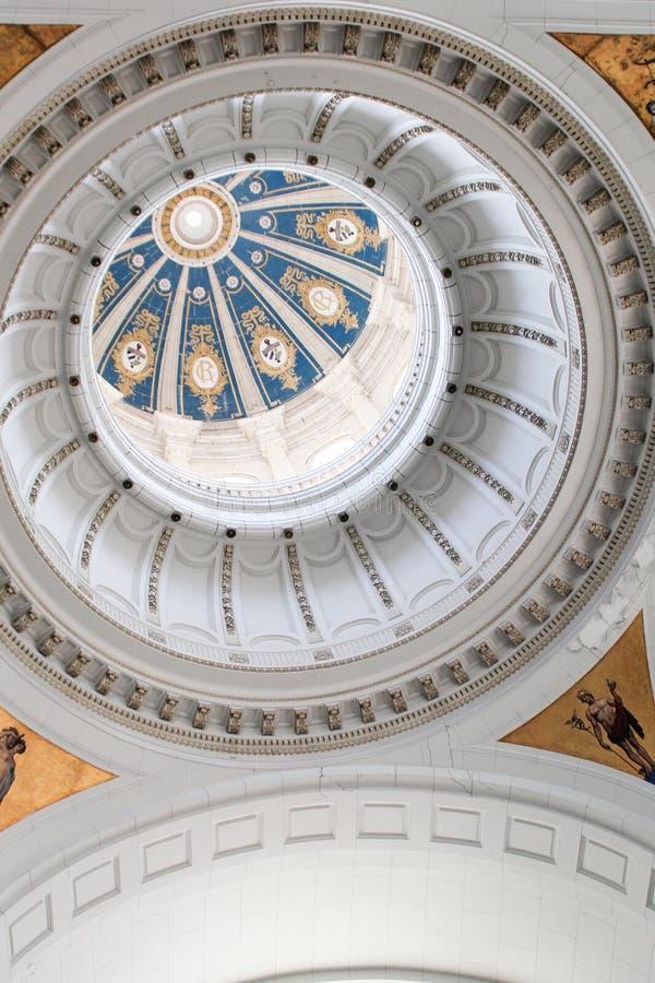Soffitto del museo di Havana Revolution fotografie stock