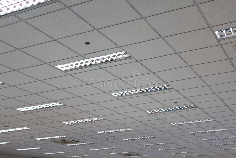 Soffitto dell'ufficio fotografie stock libere da diritti