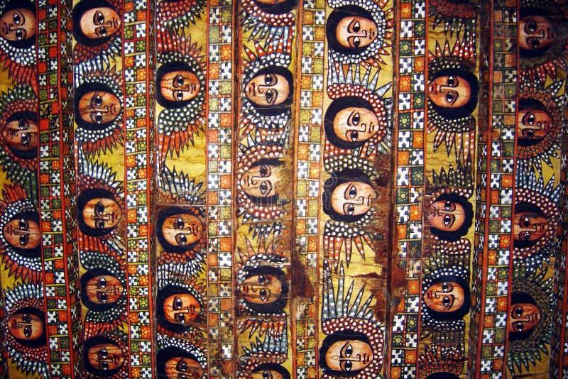 Soffitto di Gondar immagini stock libere da diritti