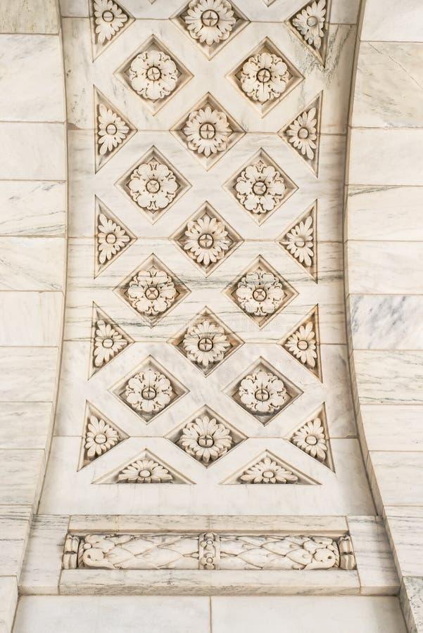Soffitto di marmo immagini stock libere da diritti