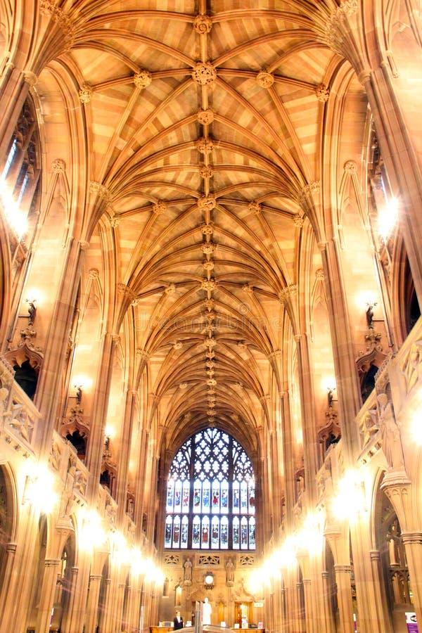 Soffitto di una chiesa fotografie stock libere da diritti