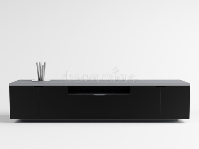 SOFIA – TV Cabinet 01 stock image
