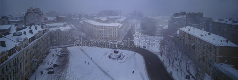 Sofia égalisant brumeux photos libres de droits