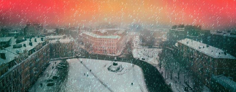 Sofia égalisant brumeux photographie stock
