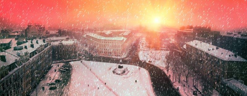 Sofia égalisant brumeux images libres de droits