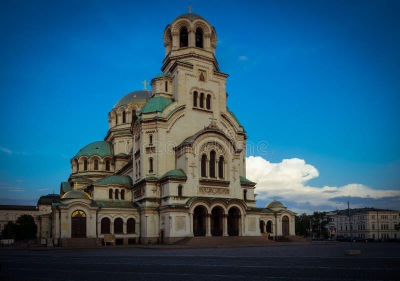 SOFIA, BULGARIA 23.07.2018: CATHEDRAL OF ALEXANDER NEVSKI. SOFIA, BULGARIA 23072018 CATHEDRAL OF NEVSKI stock image