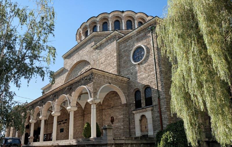 Sveta Nedelya Cathedral In Sofia, Bulgaria royalty free stock images