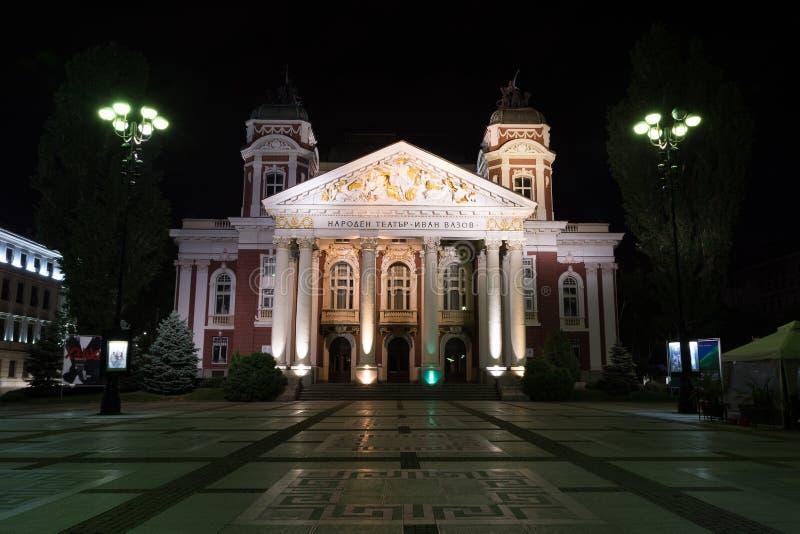 SOFIA, BULGARIA - MAY 7, 2018: Ivan Vazov National Theatre in the city center of Sofia, Bulgaria. stock photo