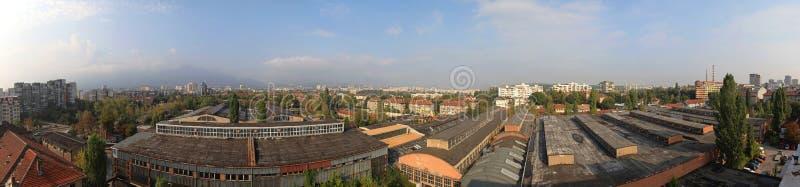 Sofia Bulgaria Panorama fotografía de archivo