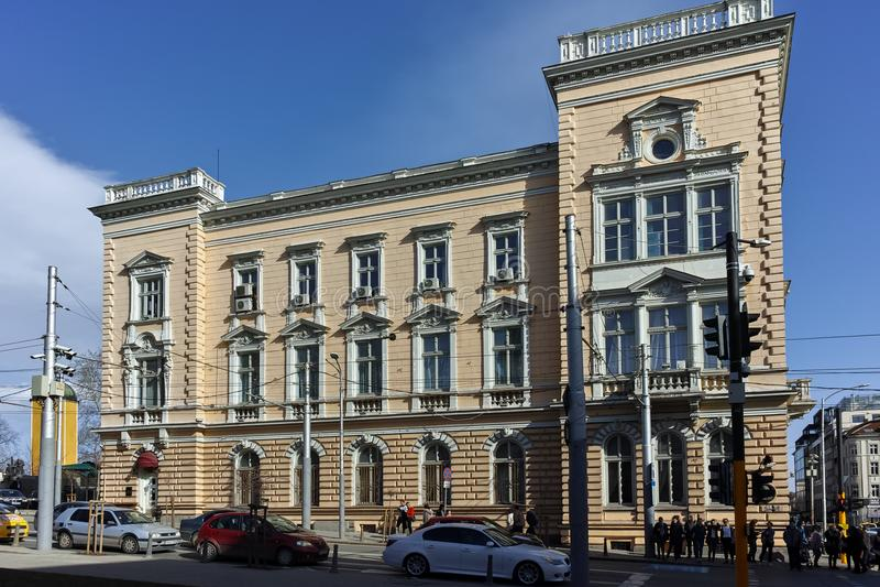 SOFIA, BULGARIJE - MAART 17, 2018: Resten van de zestiende eeuw Turkse barakken in Sofia royalty-vrije stock fotografie
