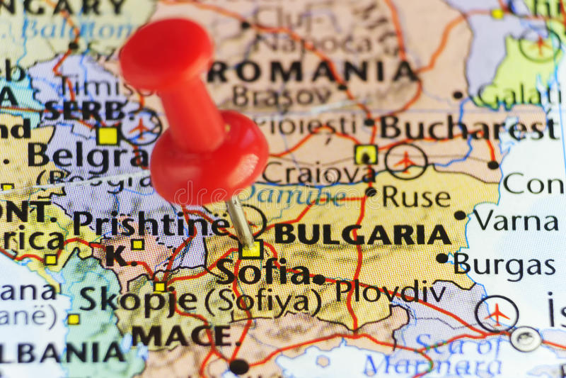 Download Sofia Capital City Of Bulgaria Stock Illustration
