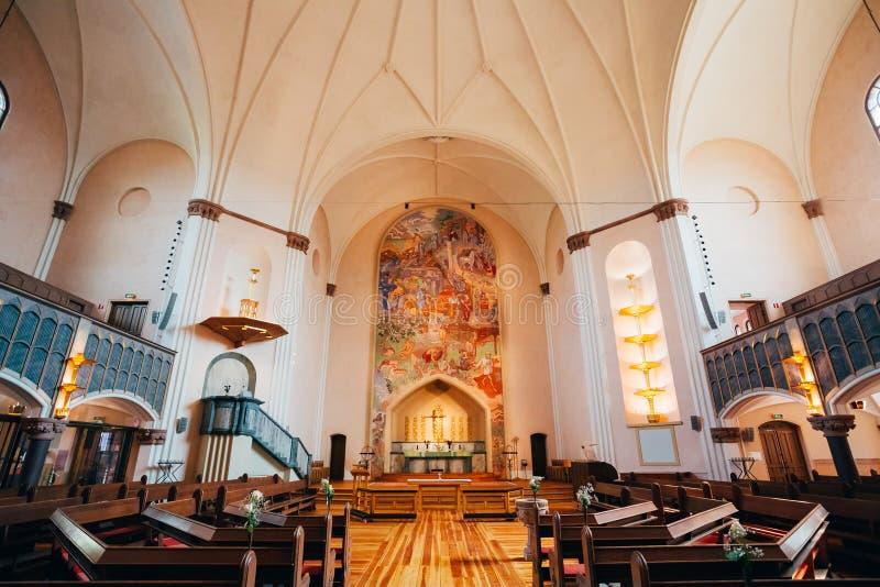 Sofia Church na de Zweedse koningin Sophia wordt genoemd die stock foto